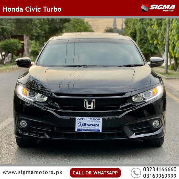Honda Civic Turbo 1.5 VTEC 2017