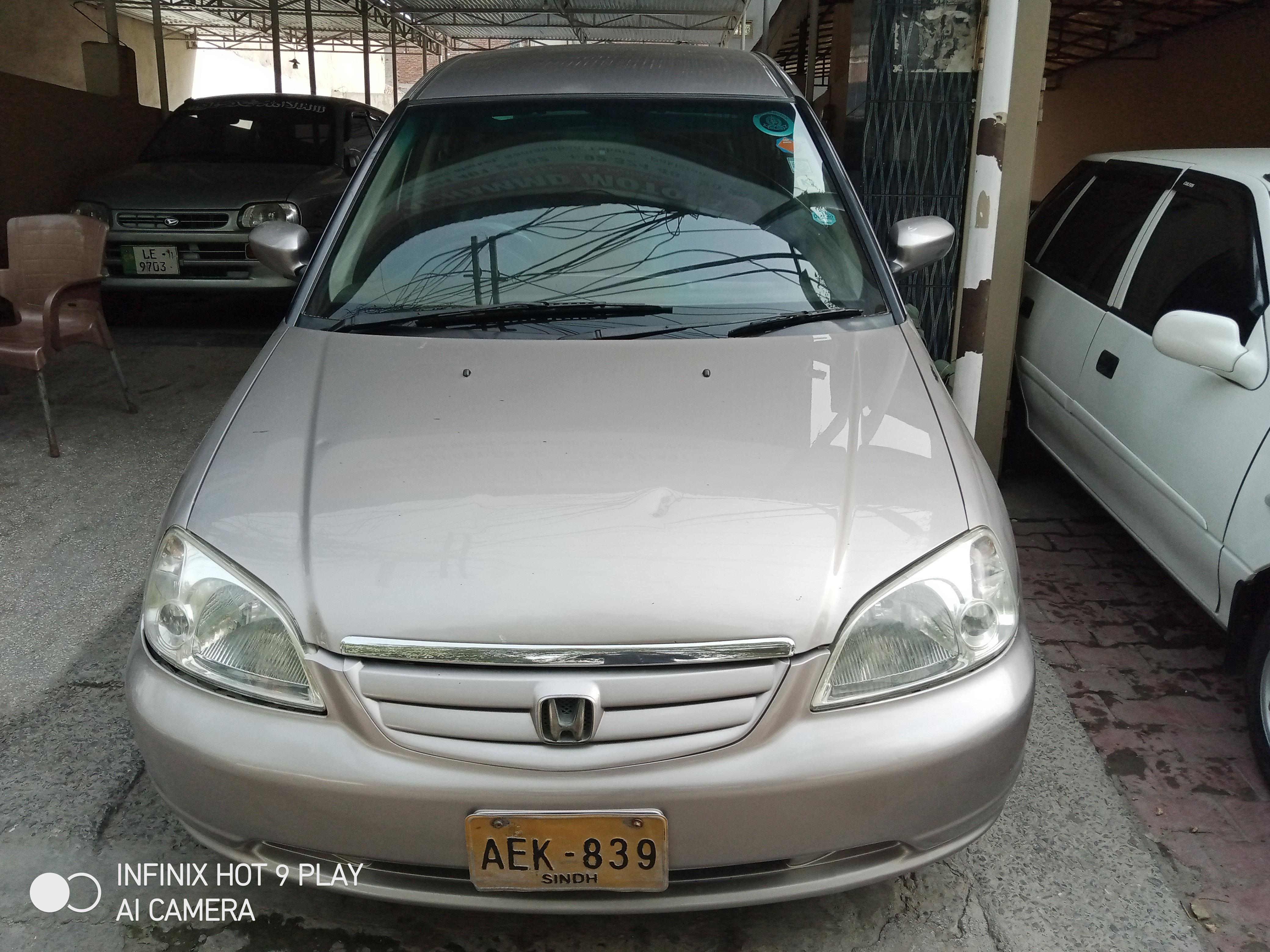 Honda Civic VTi 1.6 2002