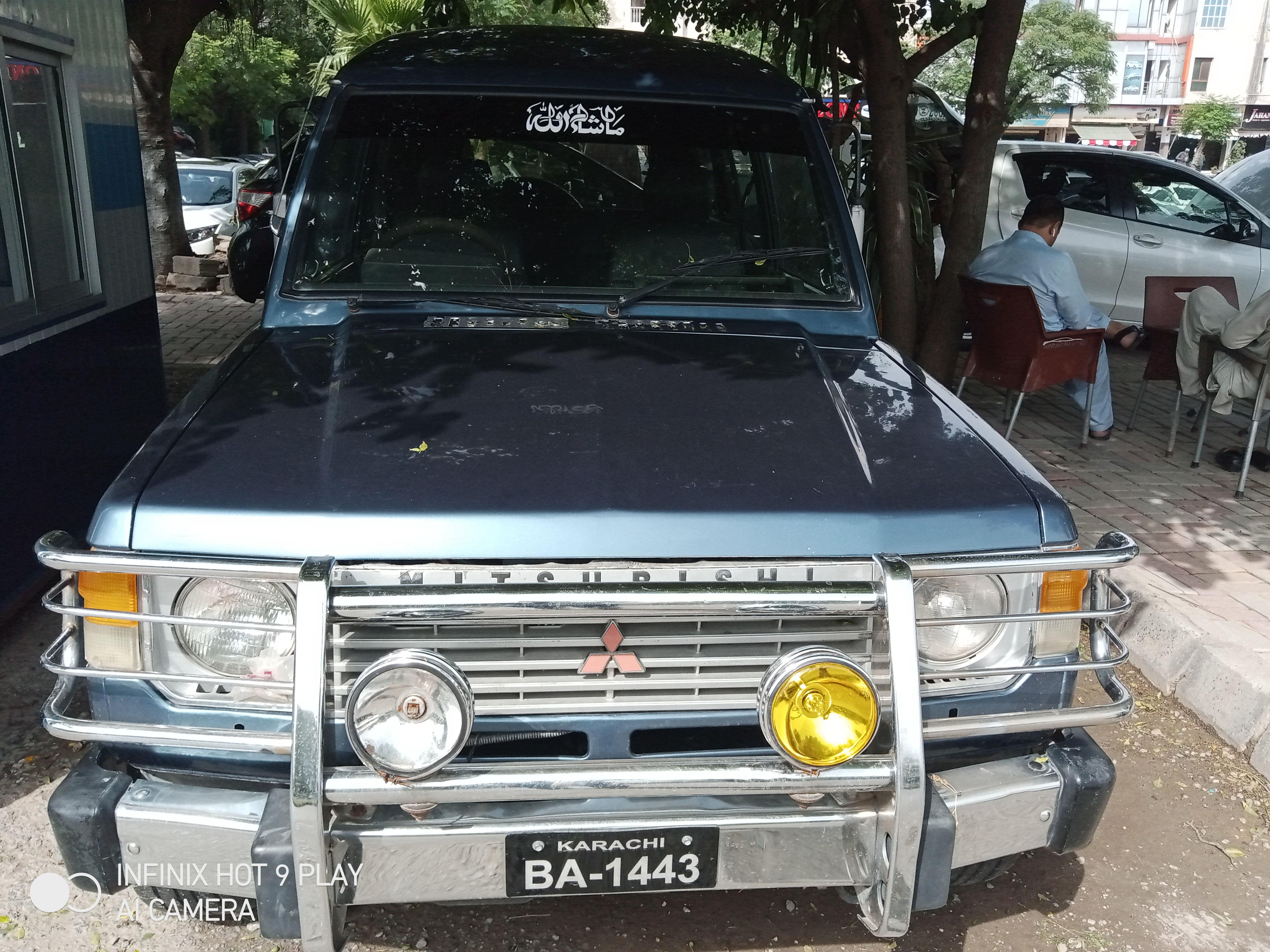 Mitsubishi Pajero Evolution 1991