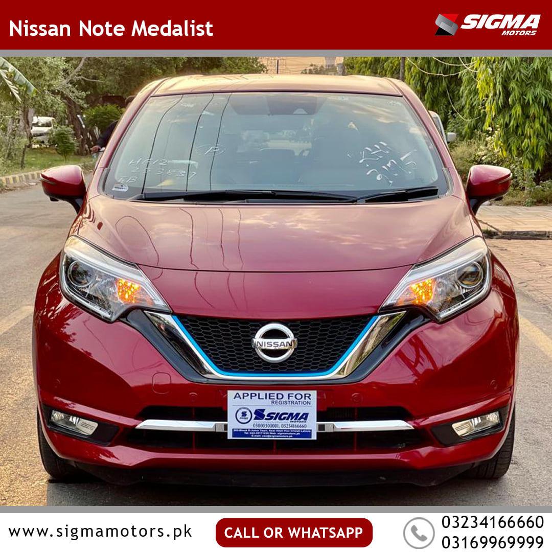Nissan Note MEDALIST 2019
