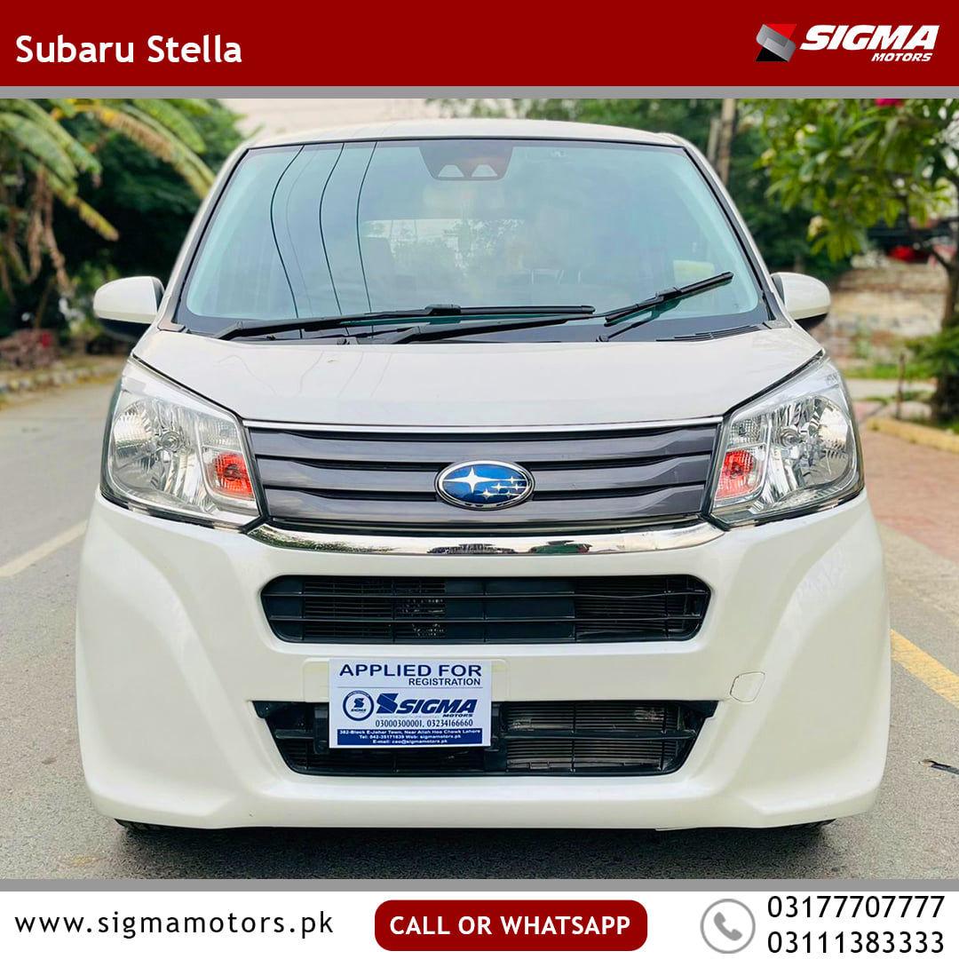 Subaru Stella Custom 2018