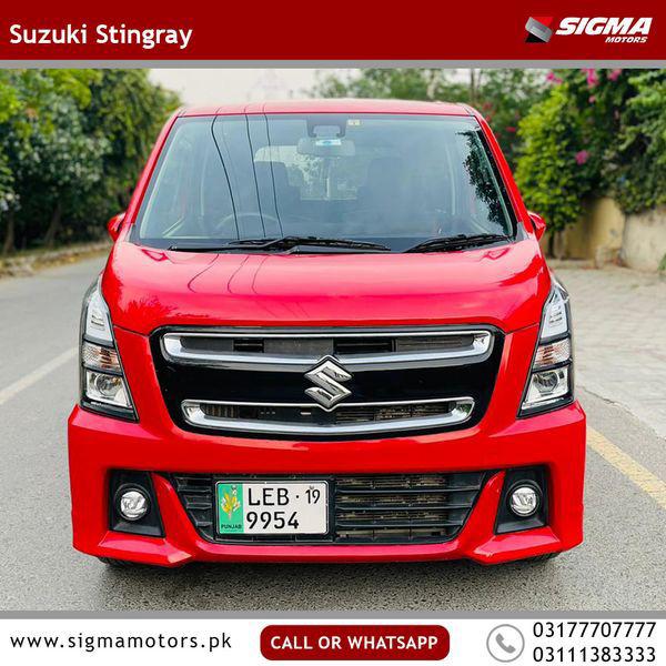 Suzuki Wagon R Stingray T 2017