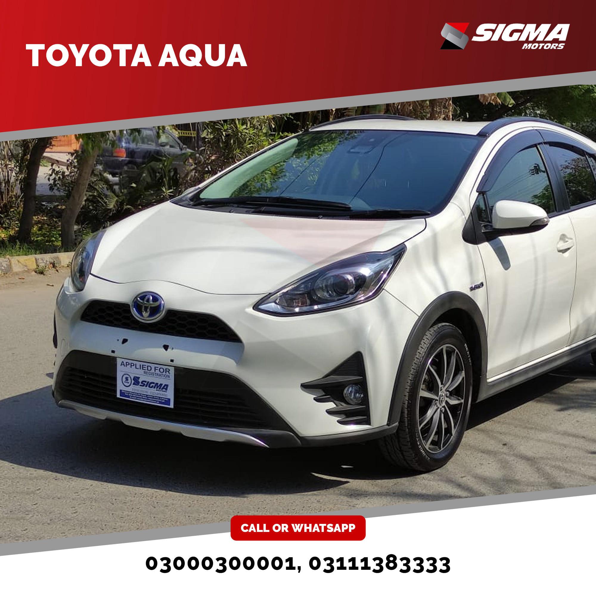 Toyota Aqua X Urban