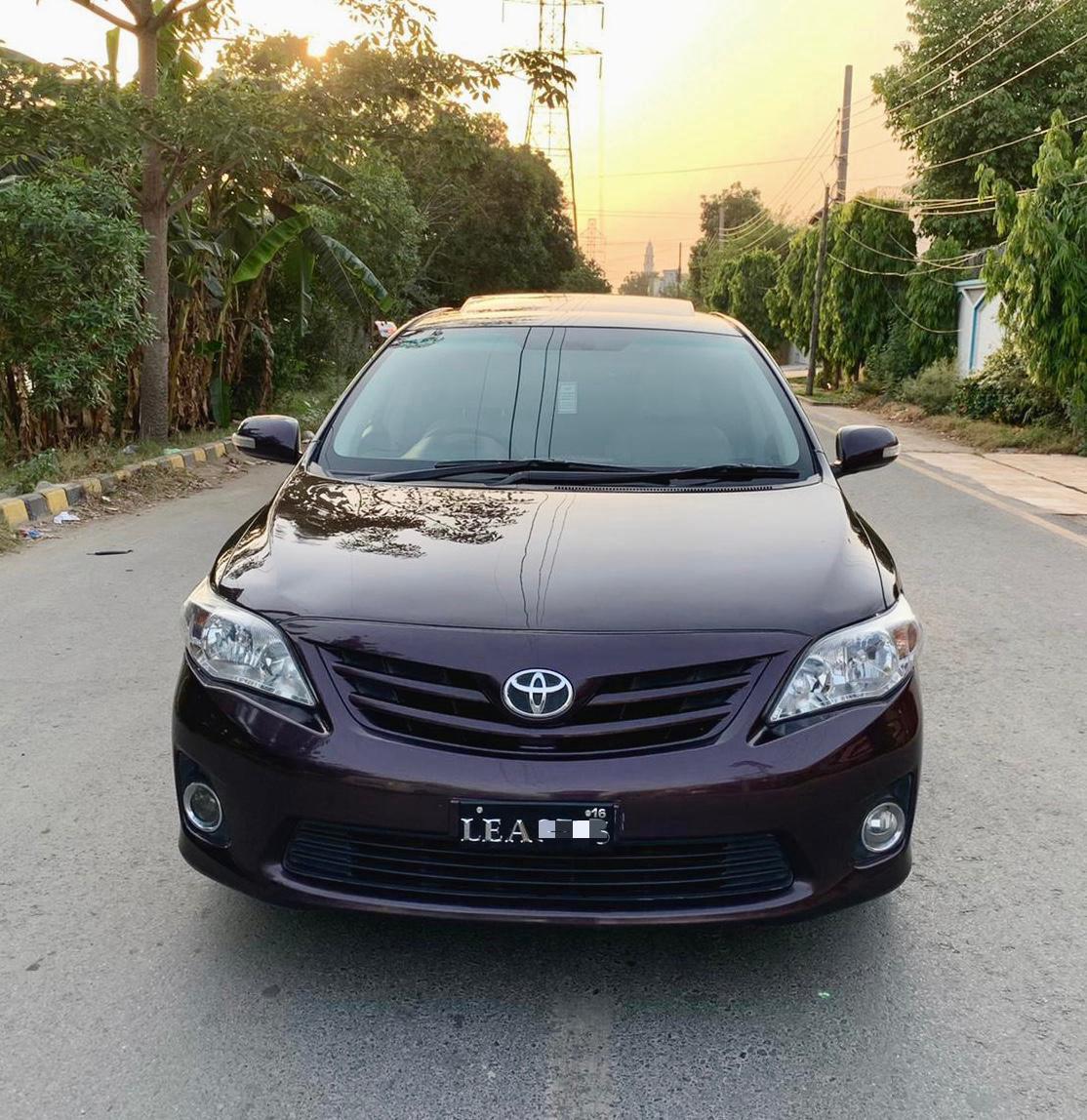 Toyota Corolla Altis Cruisetroni 2013