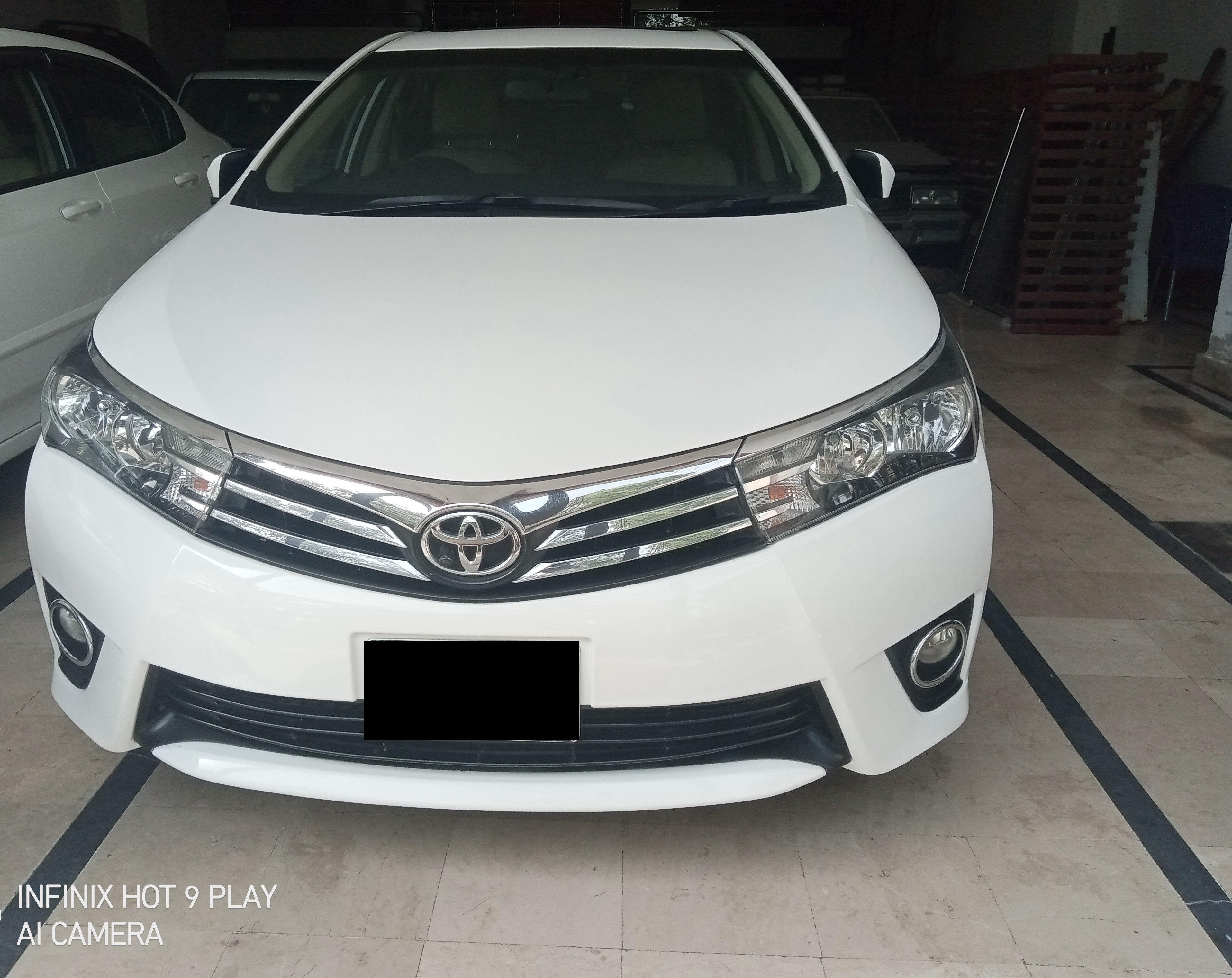 Toyota Corolla Altis Grande CVT-i 1.8 2017