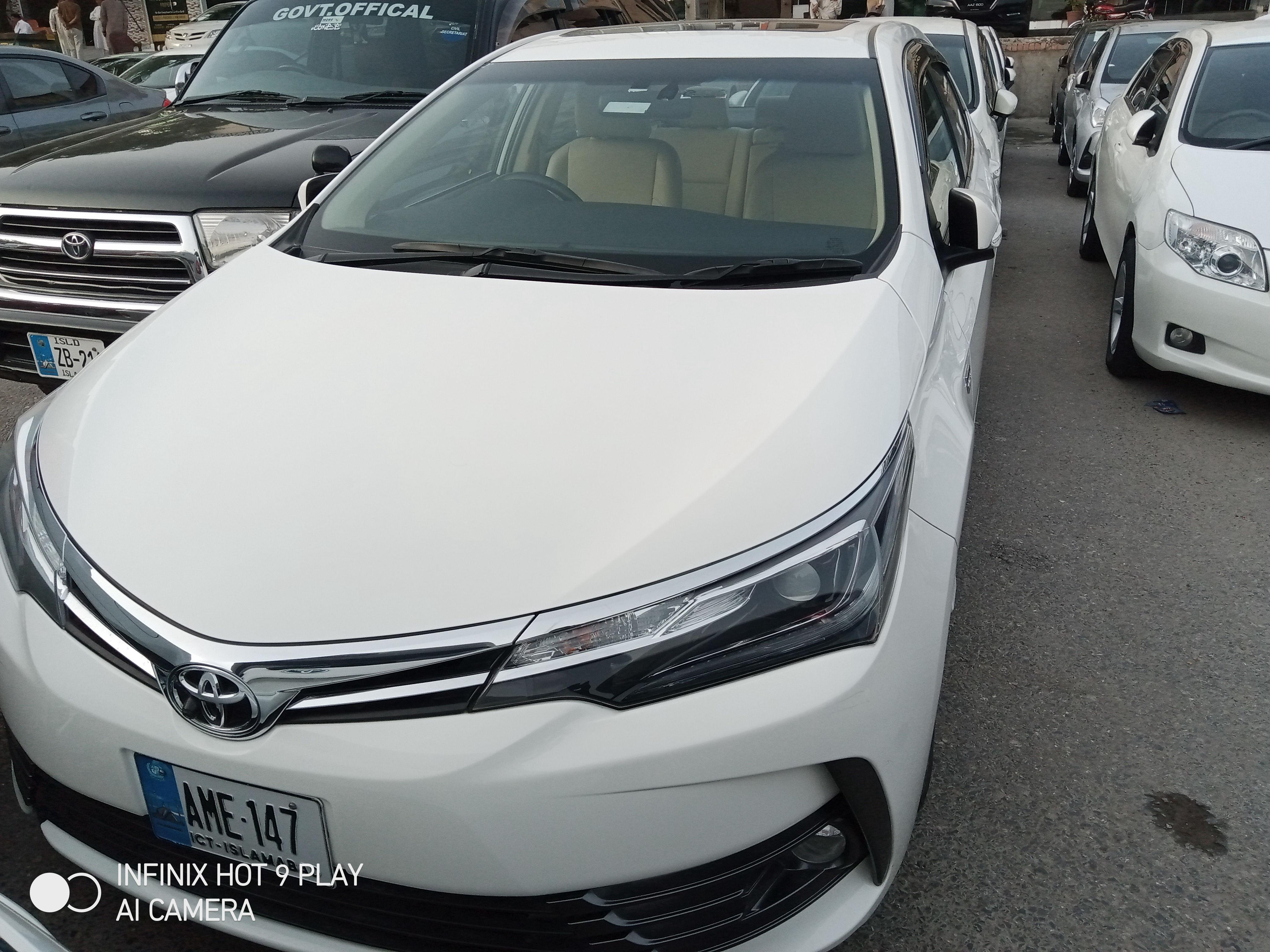 Toyota Corolla Altis Grande CVT-i 1.8 2019