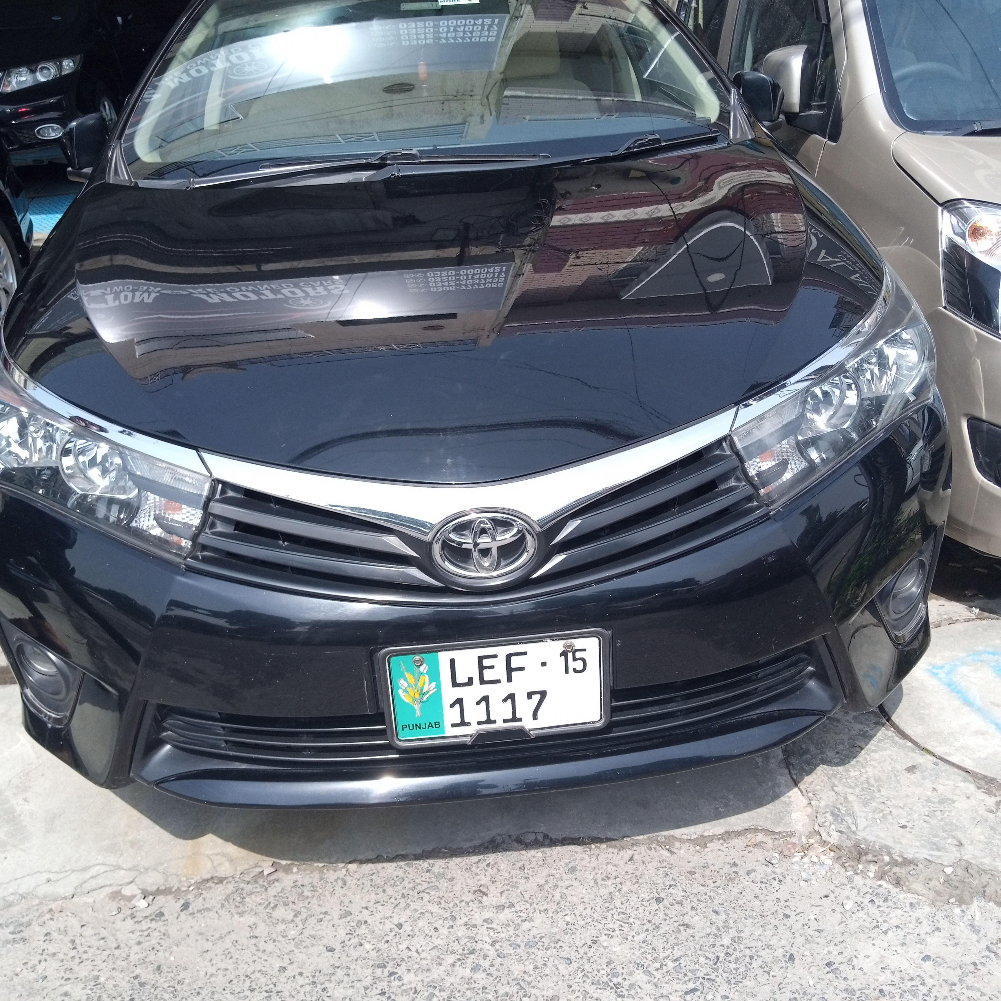 Toyota Corolla Altis SR 1.6 2015