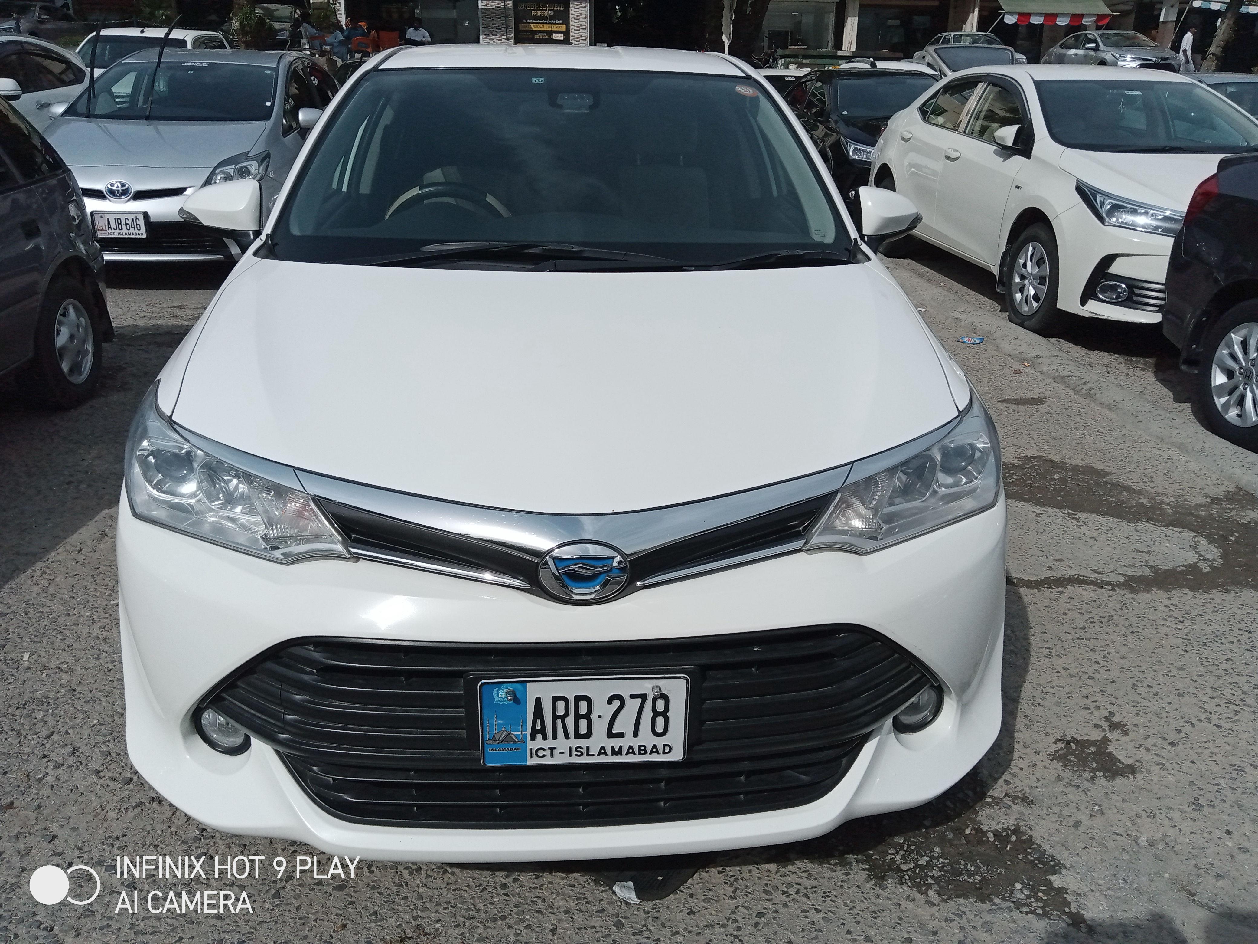 Toyota Corolla Axio X 1.5 2015