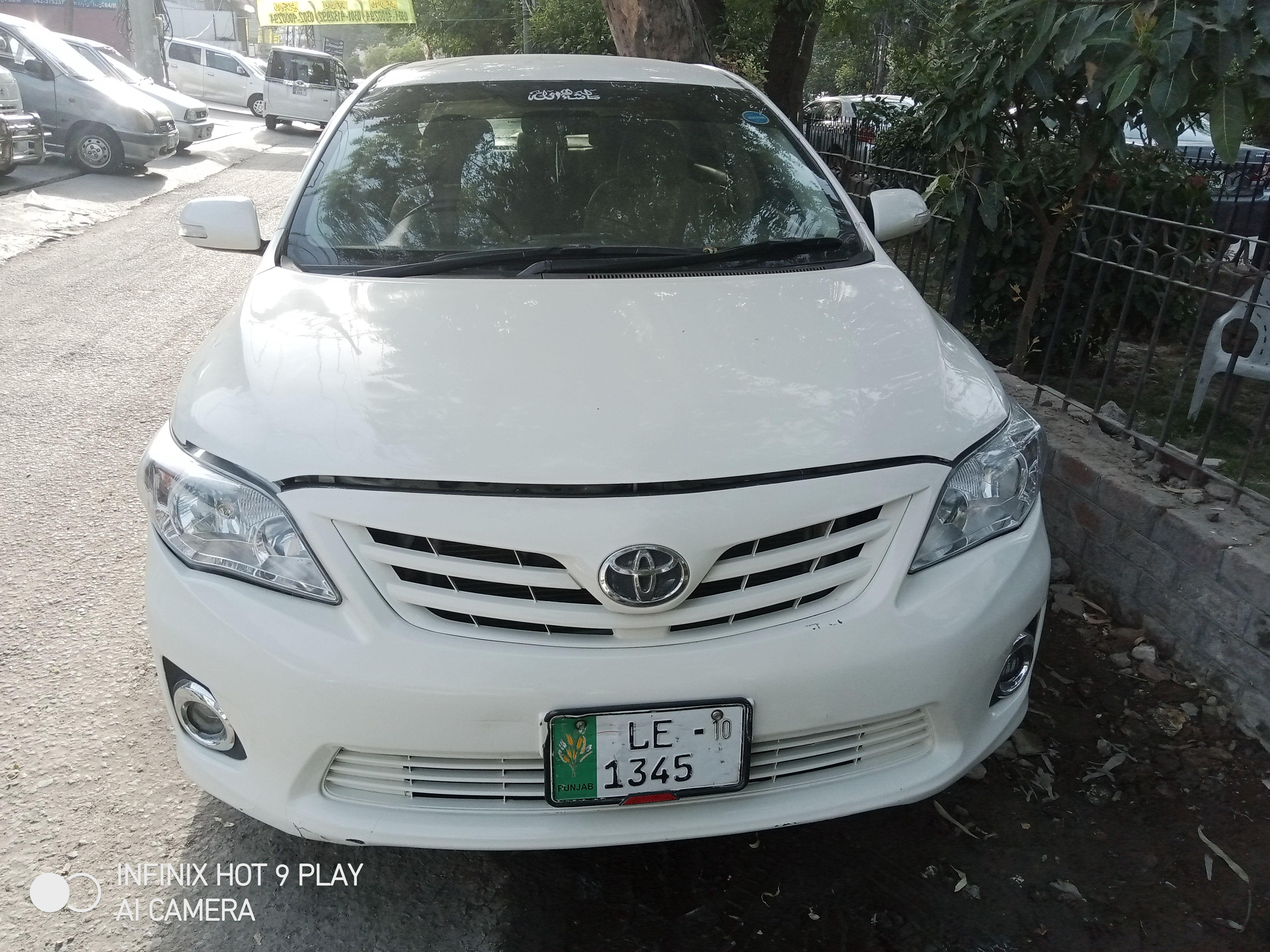 Toyota Corolla GLi 1.3 2010