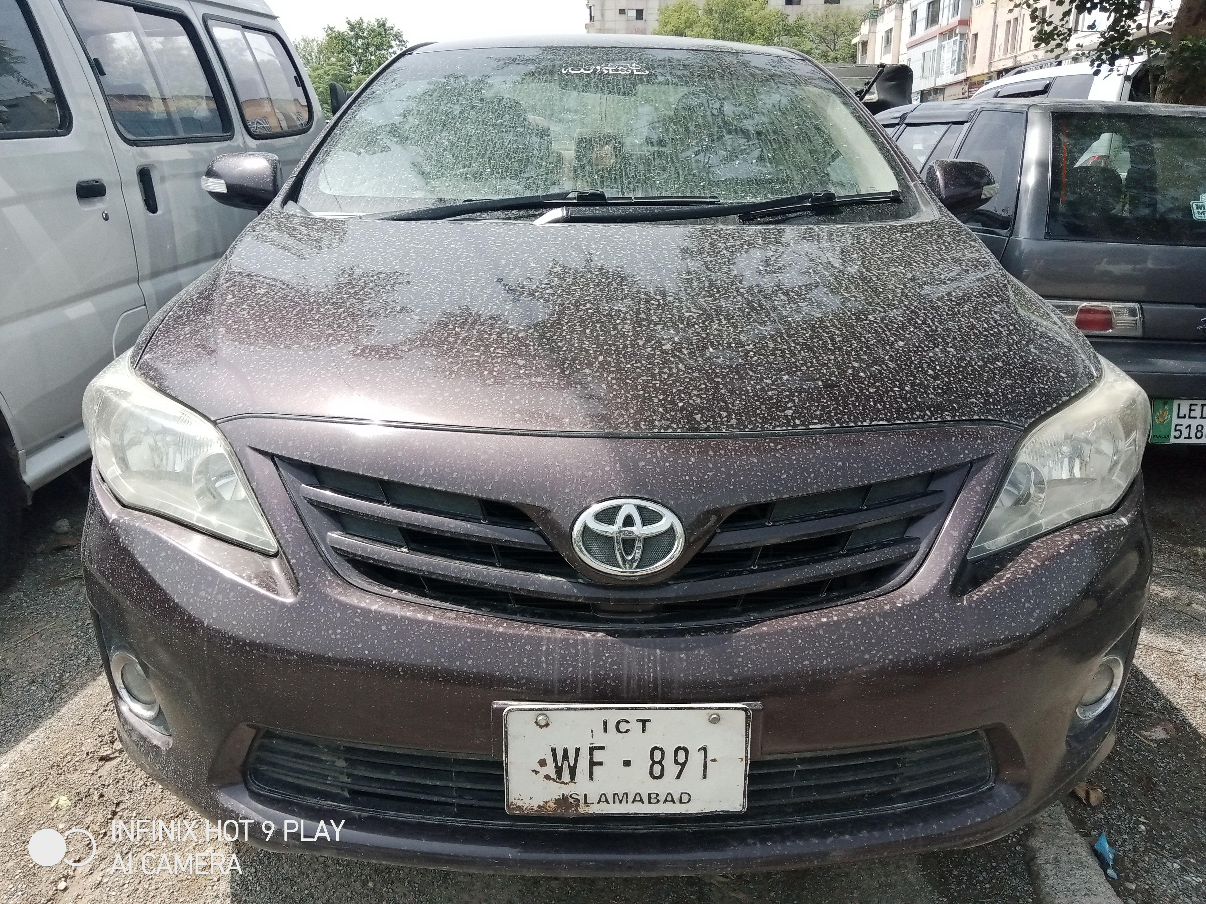 Toyota Corolla GLi 1.3 2012