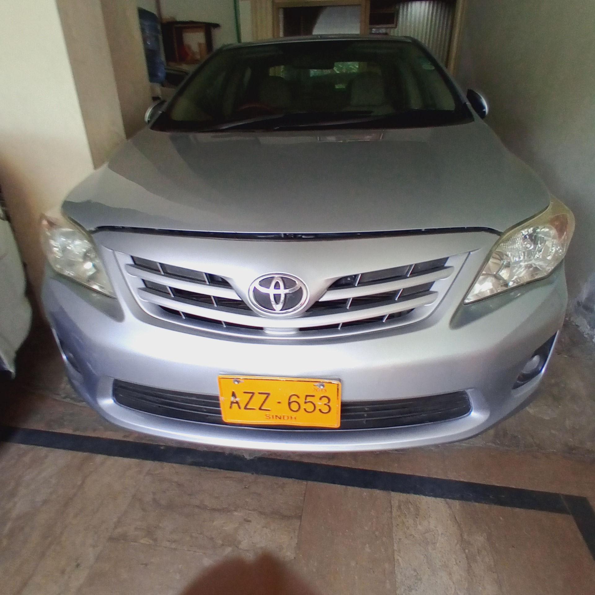 Toyota Corolla GLi 1.3 2013