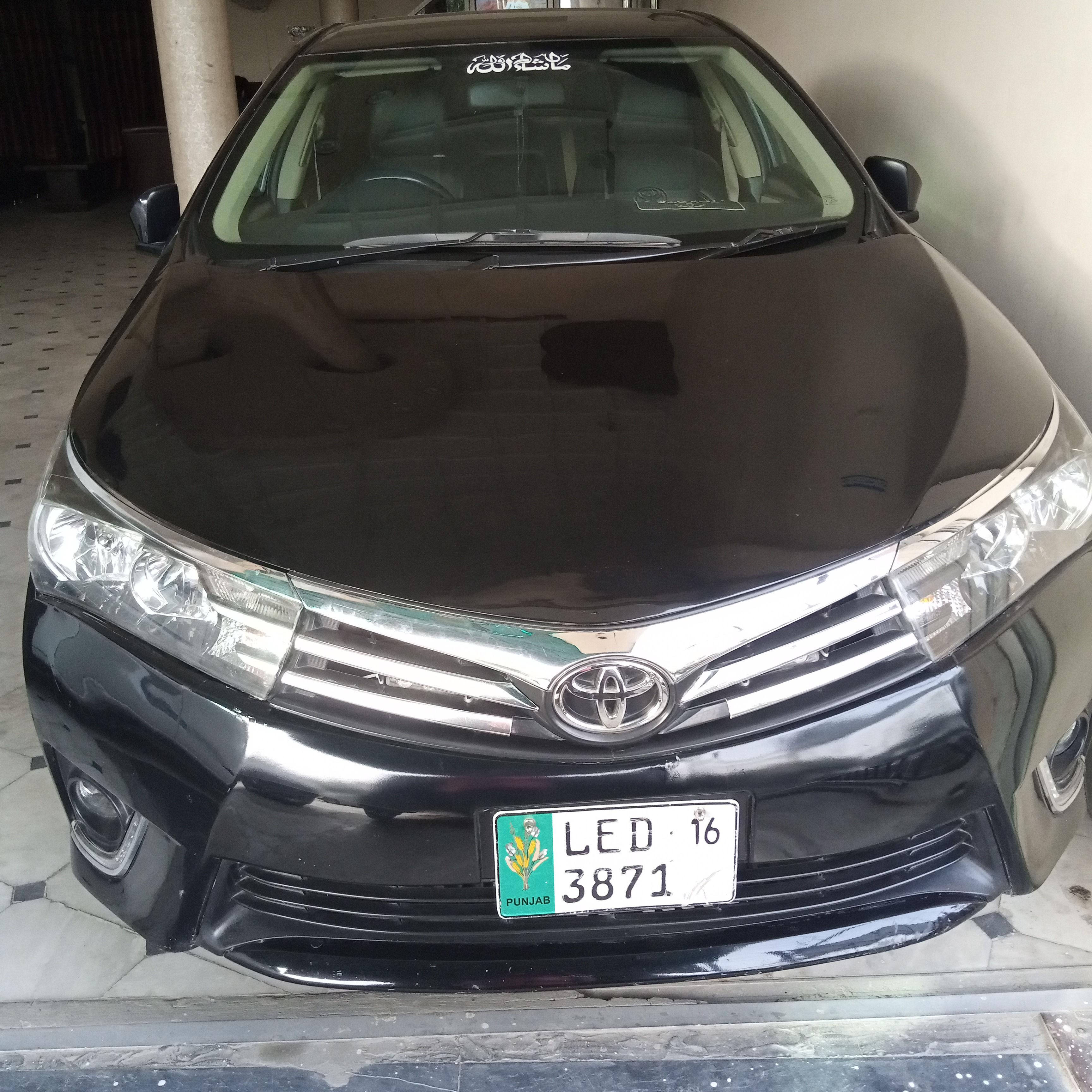 Toyota Corolla GLi 1.3 2016