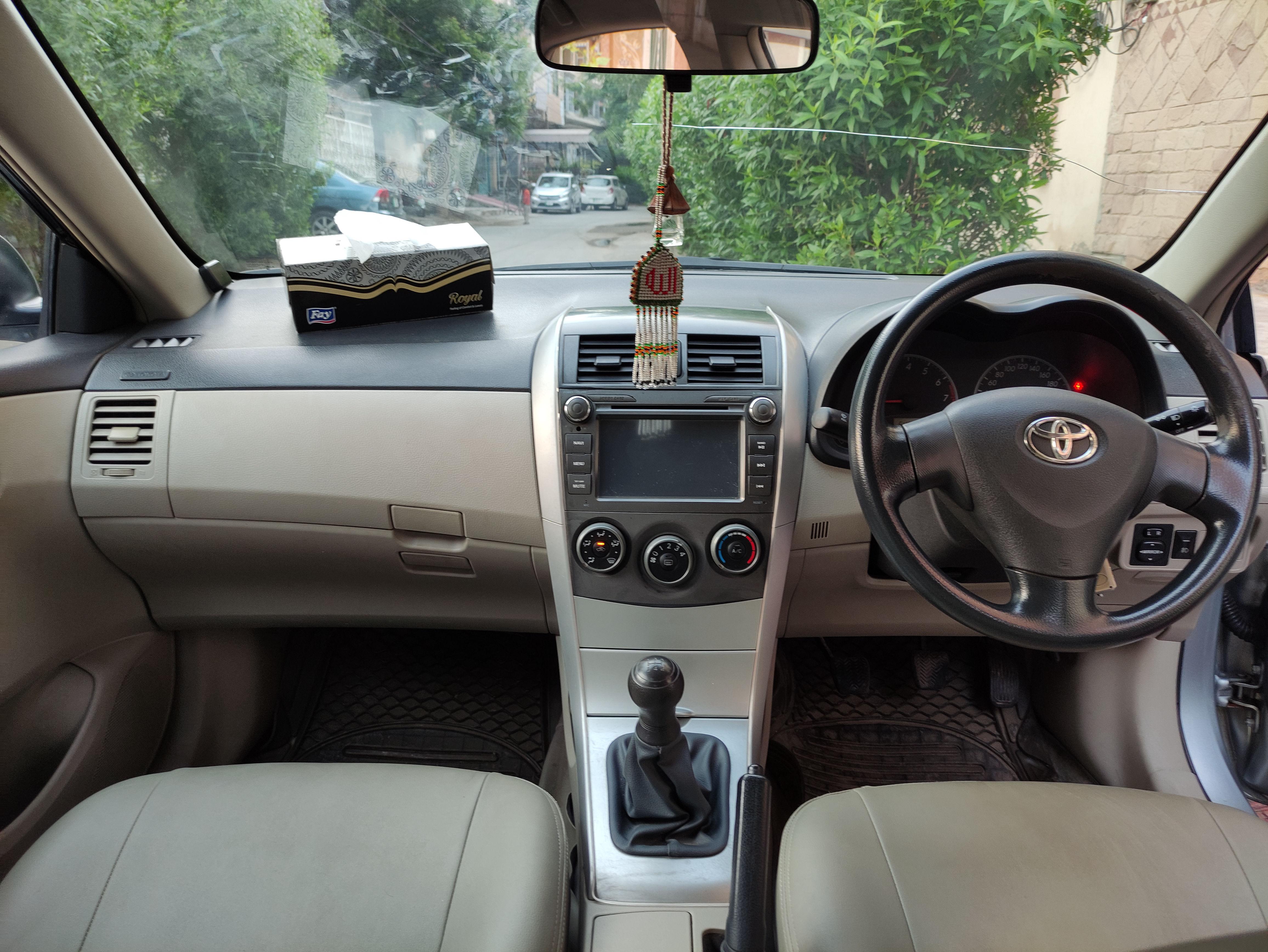 Toyota Corolla GLi 1.3 VVTi 2011