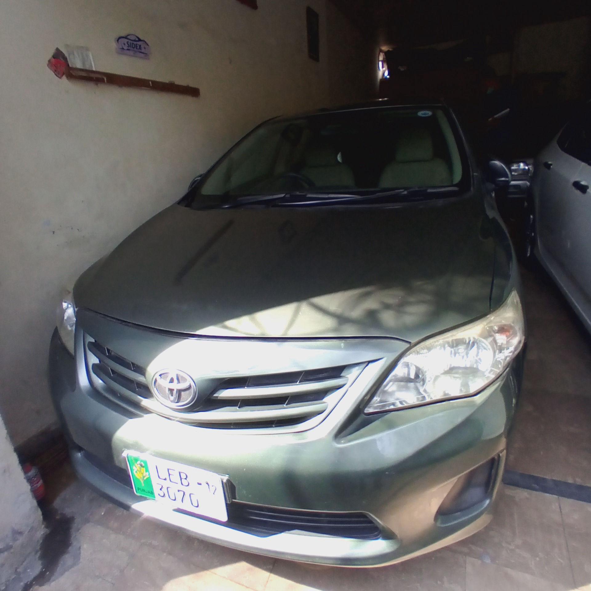 Toyota Corolla GLi 1.6 2011