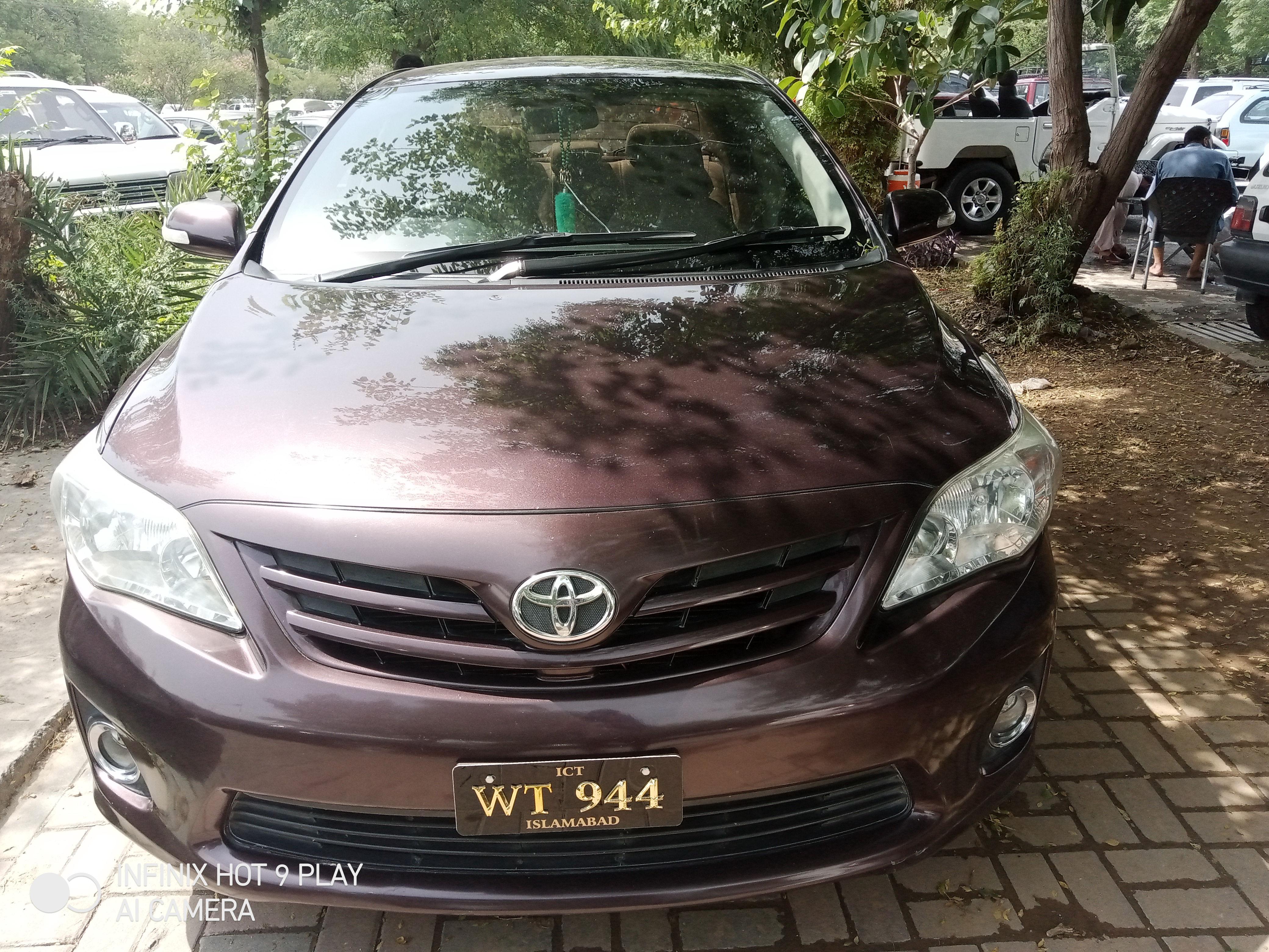 Toyota Corolla GLi 1.6 2012