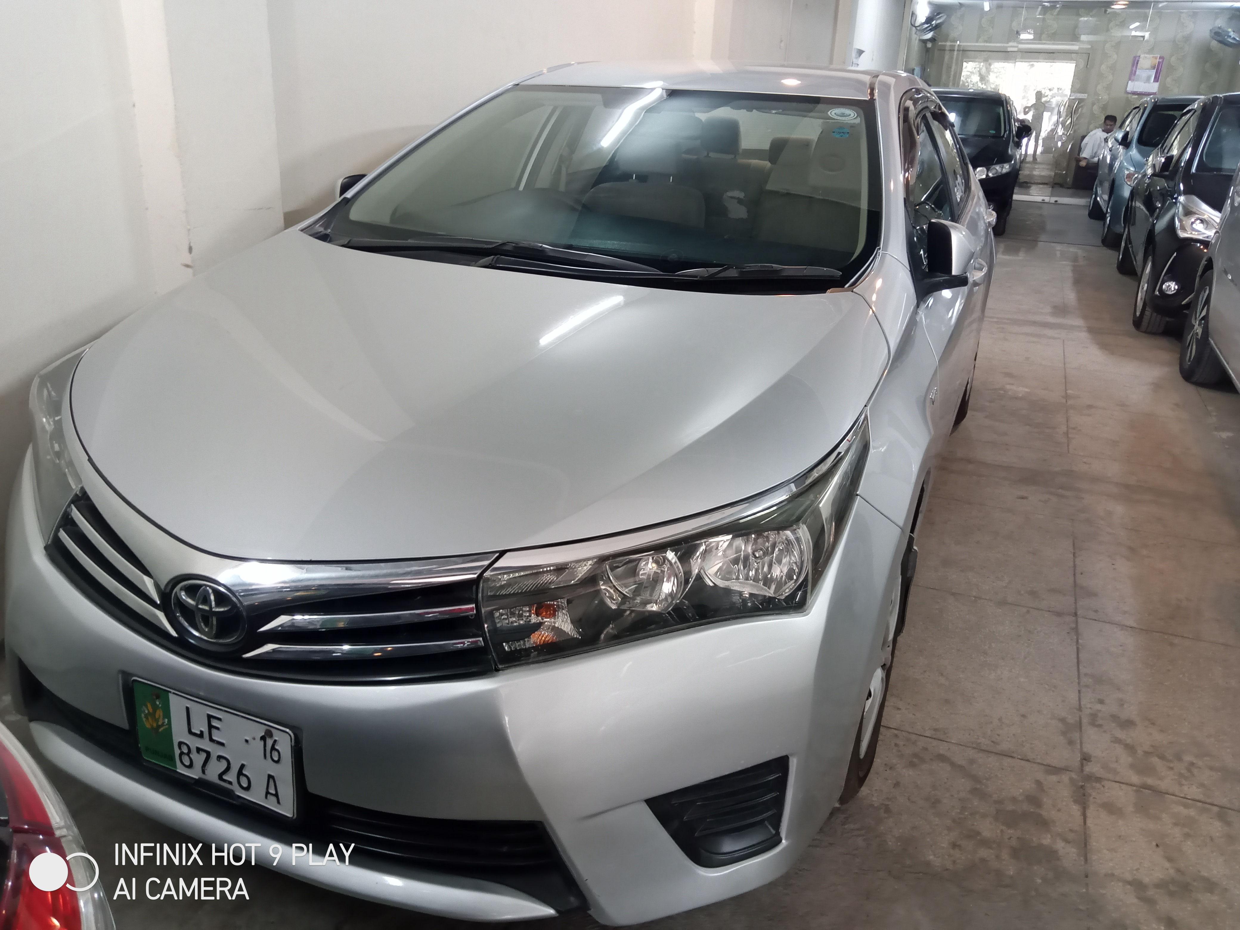 Toyota Corolla GLi 1.6 2016