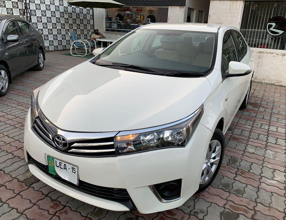 Toyota Corolla GLi Automatic 1.3 2014