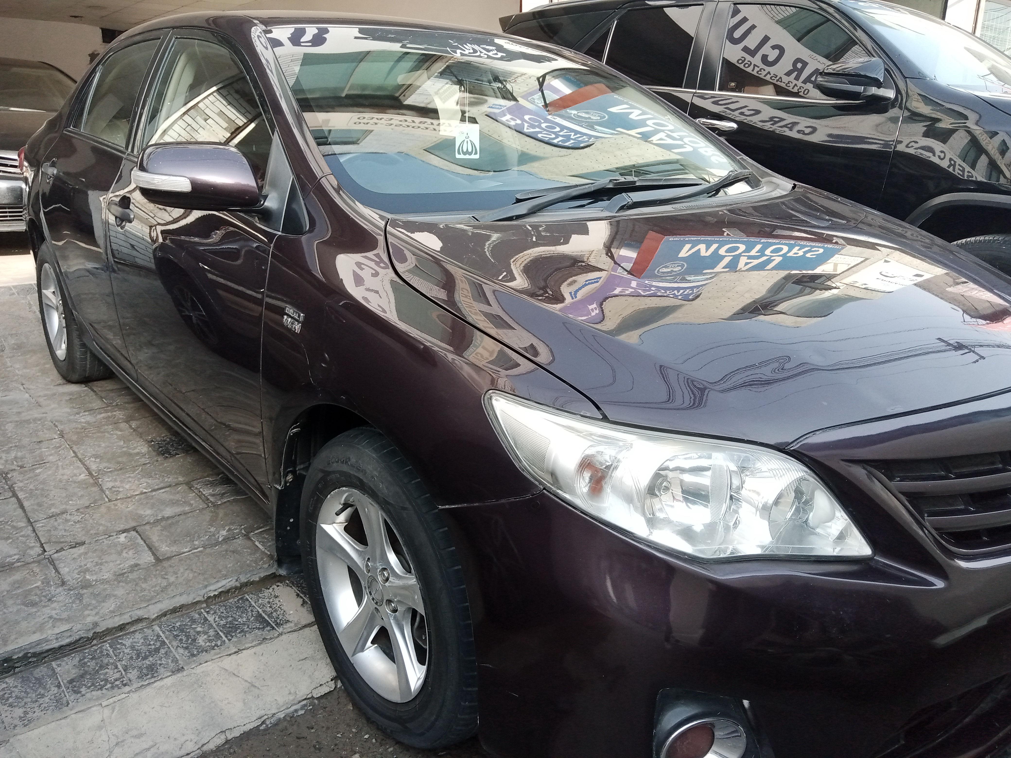 Toyota Corolla GLi Automatic 1.6 2013