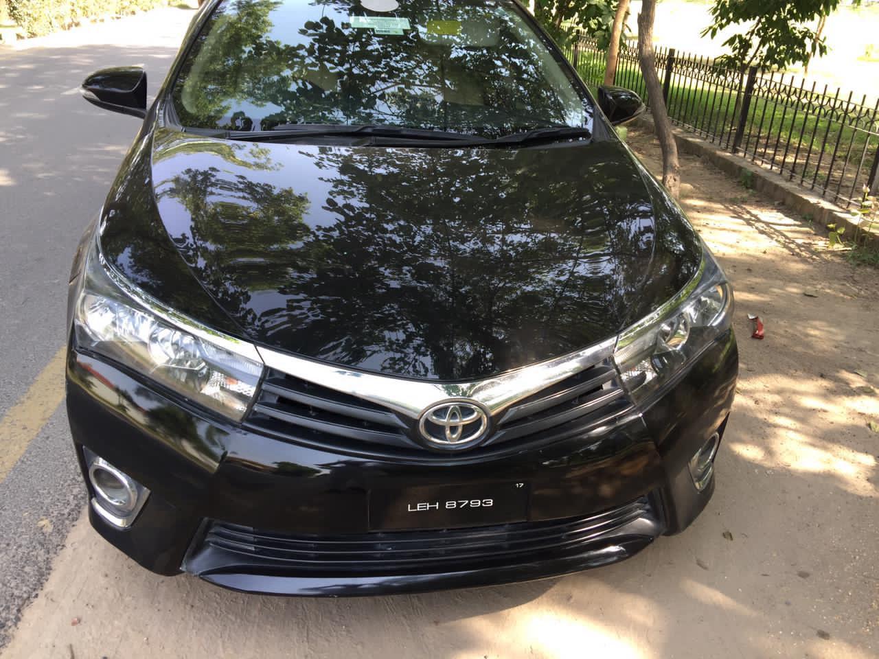 Toyota Corolla GLi Automatic 1.6 2017