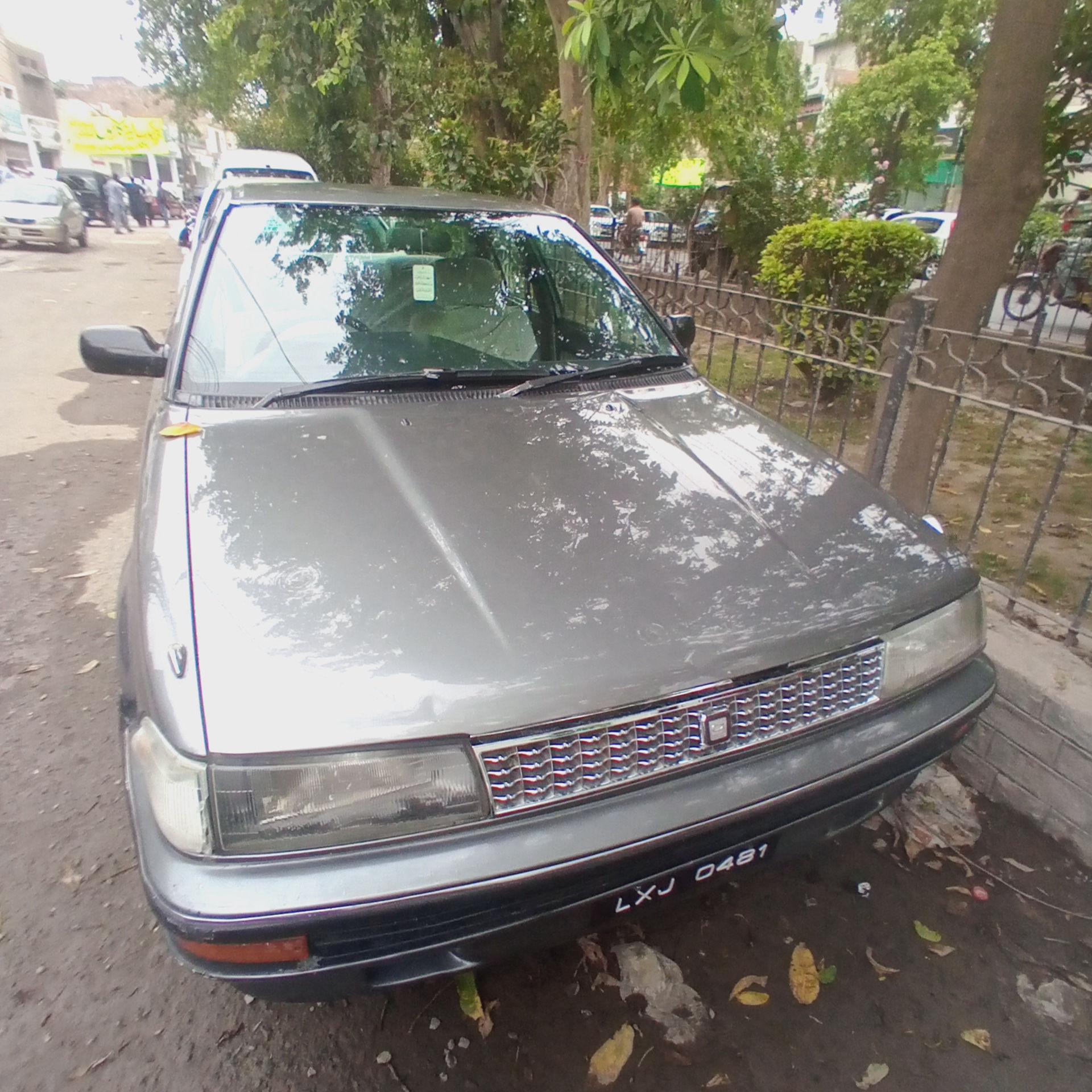 Toyota Corolla X 6 1988
