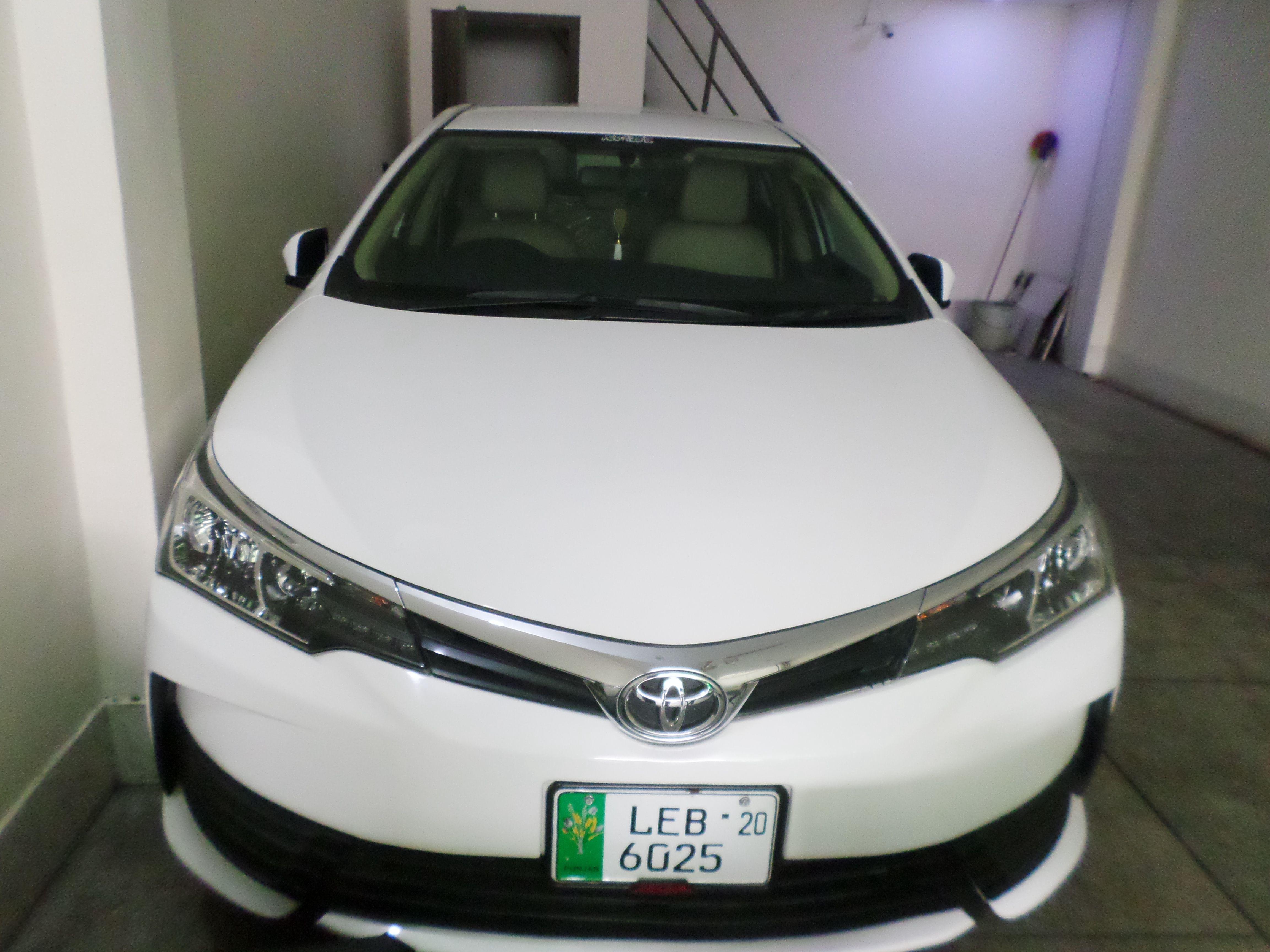 Toyota Corolla XLi 2020