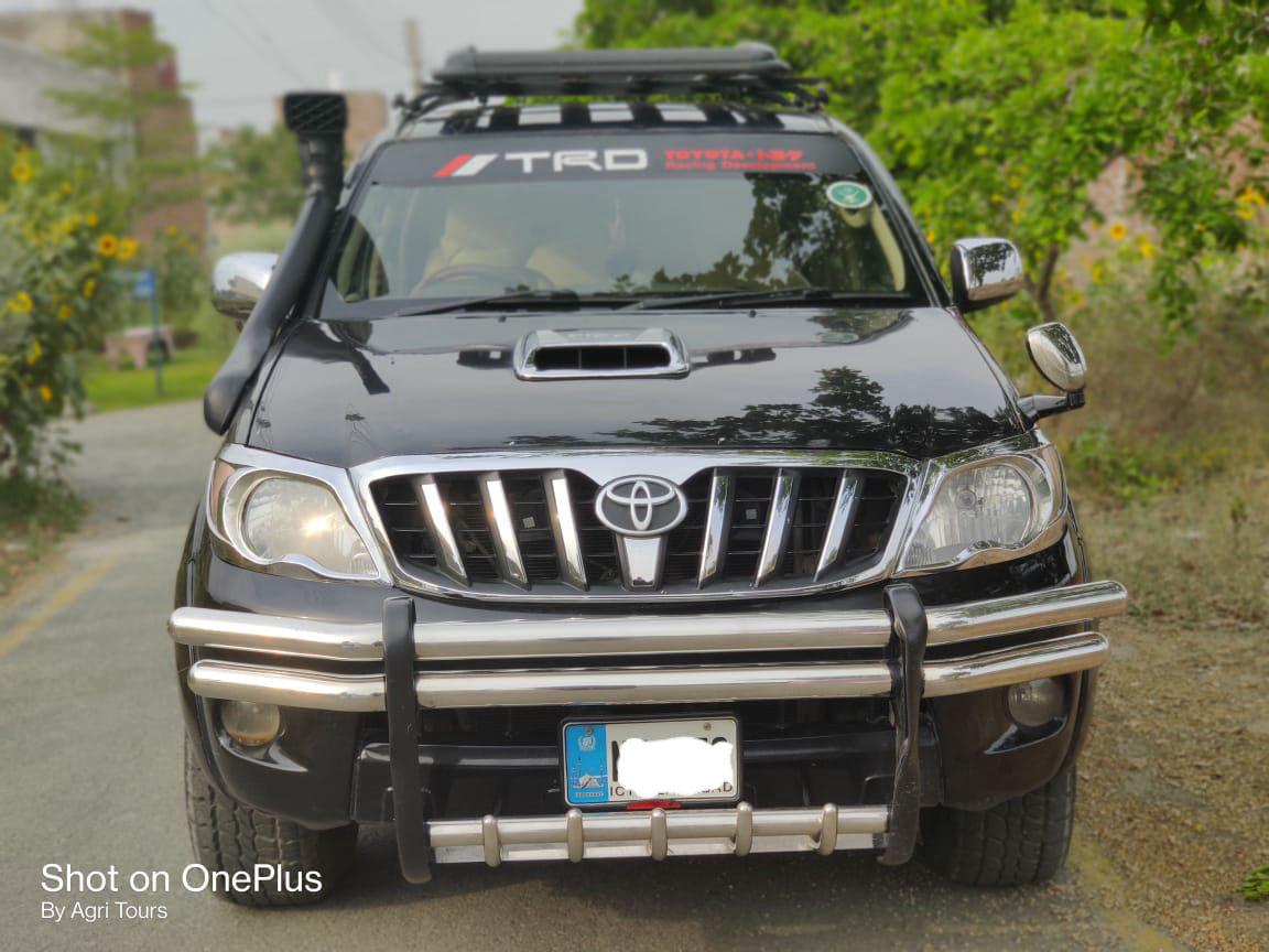Toyota Hilux D-4D Automatic 2006