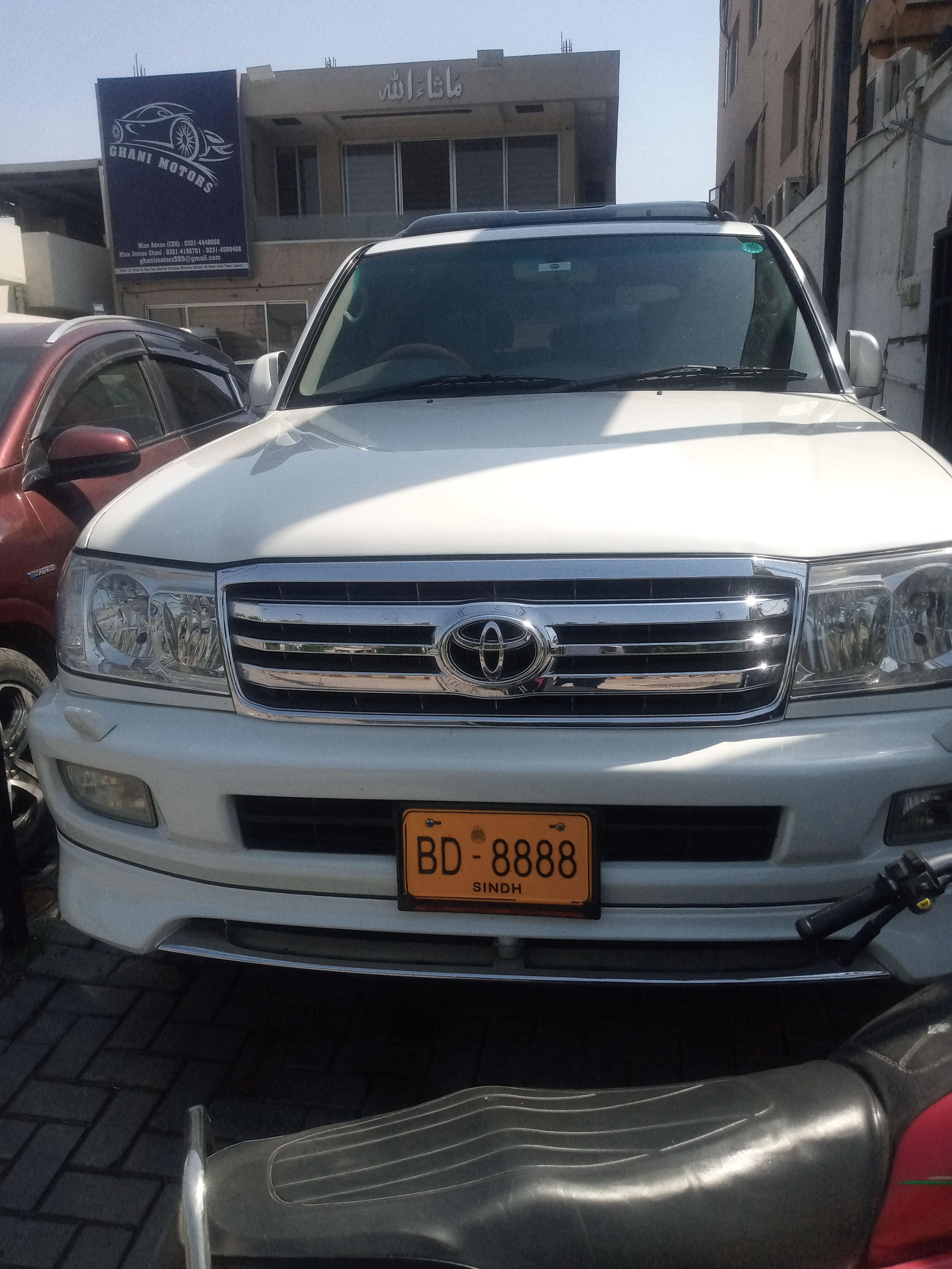 Toyota Land Cruiser VX Limited 4.7 2005