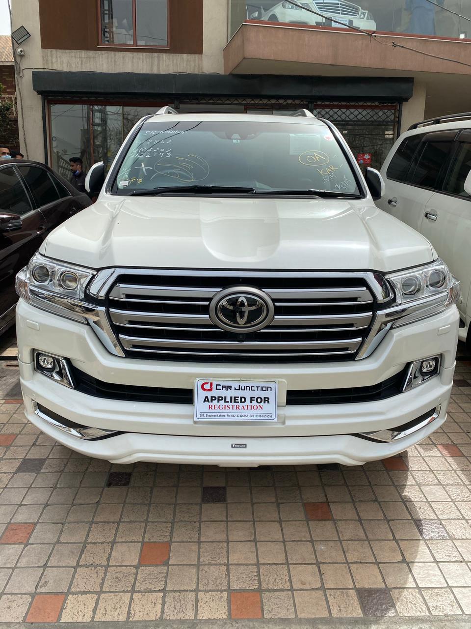 Toyota Land Cruiser ZX
