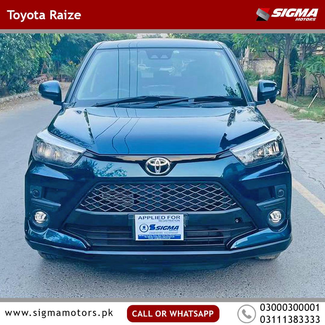 Toyota Raize Z 2019